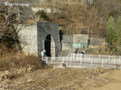 現在のトンネル
