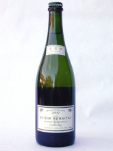 A bottle-fermented sparkling wine, `Etudes Rubaiyat` was released at the first time