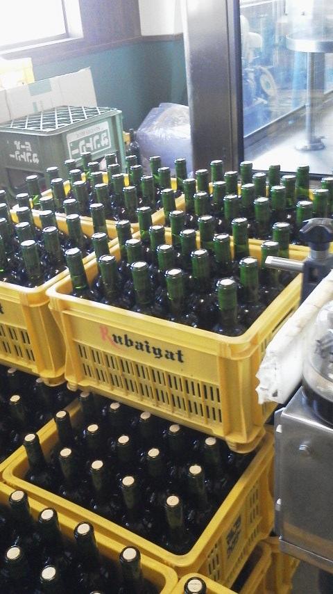 貯蔵庫に眠っていたワイン