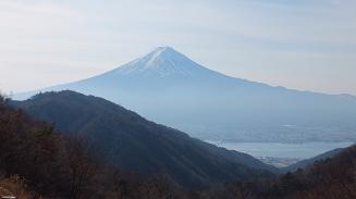 天下茶屋からの富士山